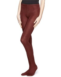 Hansel from Basel Rib Wool Blend Tights