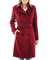 Burgundy Trenchcoat