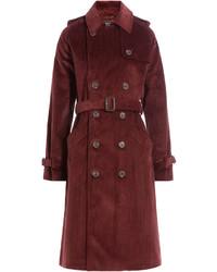 Corduroy trench coat medium 745110