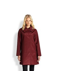 Jane Post Jane Follies Coat Burgundy