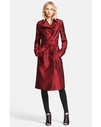Burberry London Brackenhill Belted Double Breasted Trench Coat