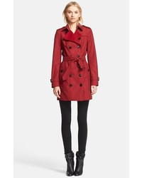 Burberry London Sandringham Slim Double Breasted Trench Coat