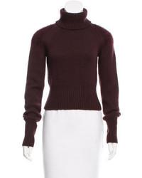 Bottega Veneta Mohair Accented Wool Turtleneck W Tags