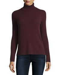 Neiman Marcus Cashmere Collection Modern Cashmere Turtleneck