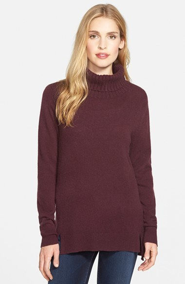 Halogen Cashmere Turtleneck Sweater | Where to buy & how to wear