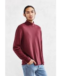 Cpo Raw Edge Turtleneck Sweatshirt