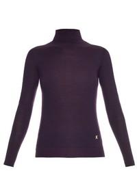 Kenzo Roll Neck Merino Wool Sweater