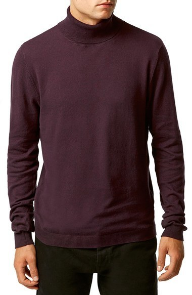 Topman Lightweight Turtleneck Sweater | Where to buy & how to wear