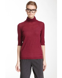 Love Moschino Turtleneck Short Sleeve Top