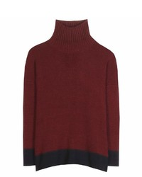 Marni Cashmere Blend Turtleneck Sweater