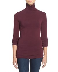 Petite Halogen Long Sleeve Turtleneck