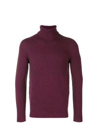 Roberto Collina Roll Neck Fitted Sweater
