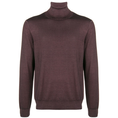 Canali Slim Fitted Turtleneck