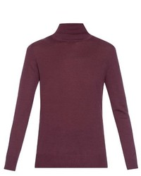 Tomas Maier Roll Neck Wool Sweater