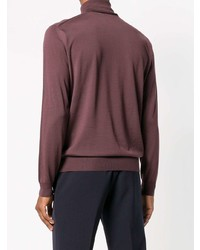 Corneliani Turtle Neck Fitted Sweater