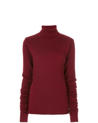 Y/Project Y Project Roll Neck Ribbed Jumper