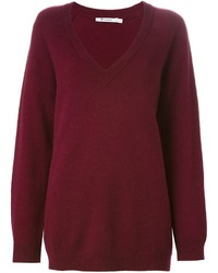 Alexander Wang T By V Neck Sweater