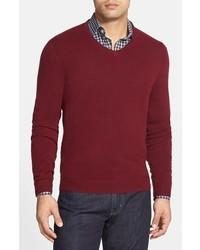 John w nordstrom cashmere v neck sweater medium 361249