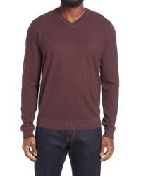 Nordstrom Men's Shop Nordstrom Thermolite V Neck Sweater
