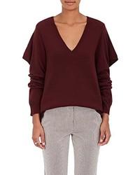 Sies Marjan Sies Marjan Wool Blend Ruffle Sweater