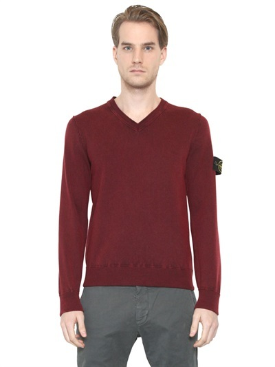 Stone Island Vintaged Ribbed Wool Sweater | Where to buy & how to wear