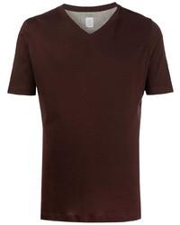 Eleventy V Neck Cotton T Shirt