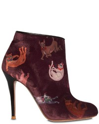 Camilla Elphick 105mm Raining Cats Dogs Velvet Boots