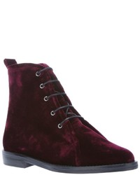 Opening Ceremony Open Market Velluto Boot Grape Velvet