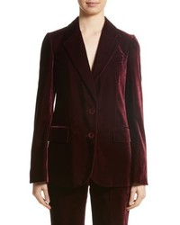 Stella McCartney Bonded Velvet Jacket
