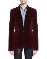 Collection parker velvet blazer medium 4156586