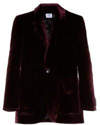 Patch pocket velvet blazer medium 924250