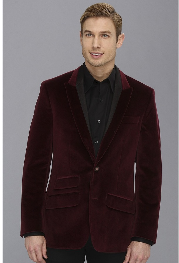 Collection Burgundy Sport Coat Pictures - Reikian