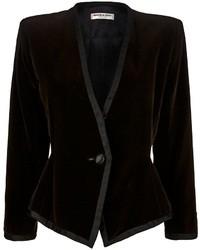Saint Laurent Yves Vintage Collarless Jacket