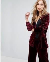 Vero Moda Tailored Velvet Blazer
