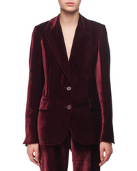 Stella McCartney Velvet Two Button Blazer