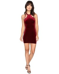 Brigitte Bailey Bridget Double Keyhole Velvet Bodycon Dress Dress