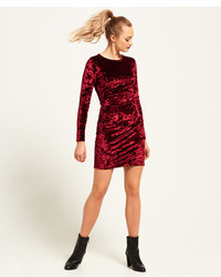 Superdry Lily Velvet Bodycon Dress