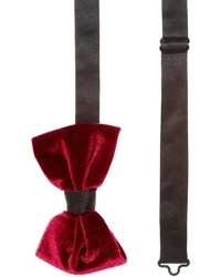 Bow tie in velvet medium 7517
