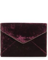 Leo velvet envelope clutch bag medium 5253363