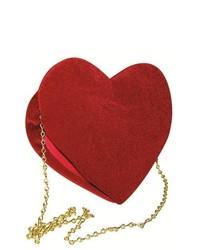 Rasta 5980 Velvet Heart Red Purse
