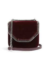 Falabella box mini velvet cross body bag medium 6447949