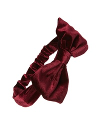 Sole Society Velvet Bow Headband
