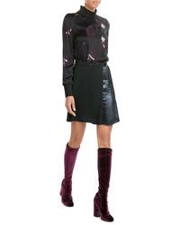 Laurence Dacade Velvet Knee Length Boots