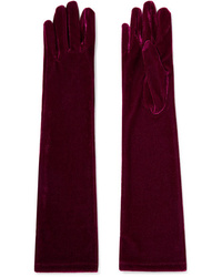 Agnelle Stretch Velvet Gloves