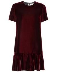 Saint Laurent Velvet Minidress