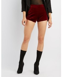 Velvet cheeky shorts medium 6453828