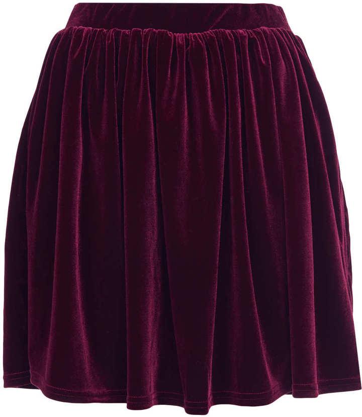 бархатная юбка фото
