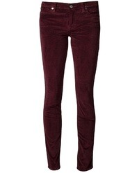 7 For All Mankind Velvet Skinny Jean