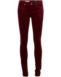 AG Jeans Skinny Velvet Trousers