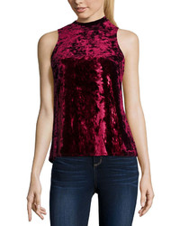 Arizona Velvet Tank Top Juniors